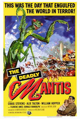 The Deadly Mantis - 27 x 40 Movie Poster - Style A