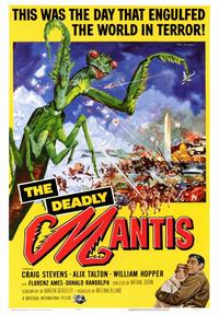 The Deadly Mantis - 43 x 62 Movie Poster - Bus Shelter Style A