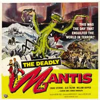 The Deadly Mantis - 30 x 30 Movie Poster - Style A