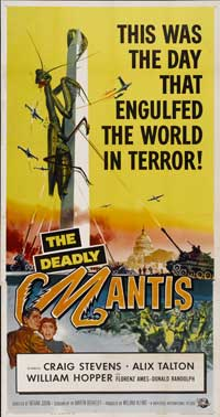 The Deadly Mantis - 20 x 40 Movie Poster - Style A