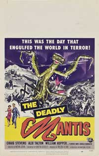 The Deadly Mantis - 14 x 22 Movie Poster - Window Card
