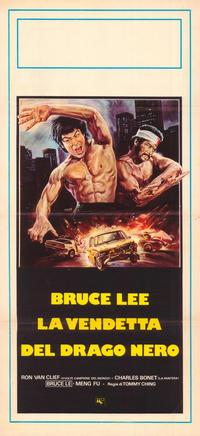 The Death of Bruce Lee - 11 x 17 Movie Poster - Italian Style A