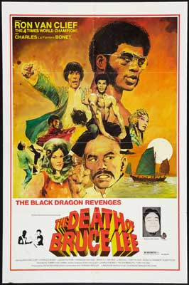 The Death of Bruce Lee - 27 x 40 Movie Poster - Style B