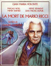 The Death of Mario Ricci - 27 x 40 Movie Poster - French Style A