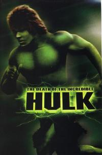 The Death of the Incredible Hulk - 27 x 40 Movie Poster - Style B