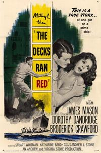 The Decks Ran Red - 43 x 62 Movie Poster - Bus Shelter Style A