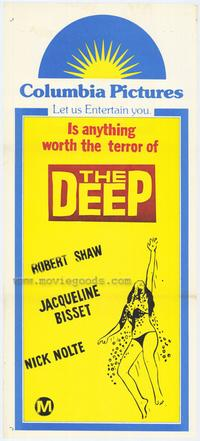 The Deep - 11 x 17 Movie Poster - Style B