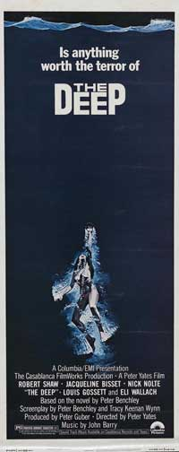 The Deep - 14 x 36 Movie Poster - Insert Style A