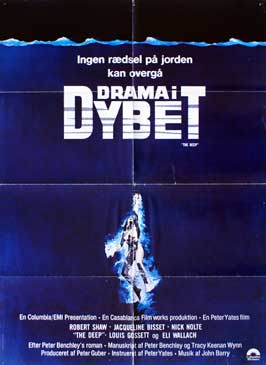 The Deep - 27 x 40 Movie Poster - Danish Style A