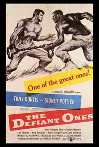 The Defiant Ones - 43 x 62 Movie Poster - Bus Shelter Style A
