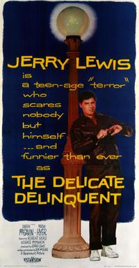 The Delicate Delinquent - 43 x 62 Movie Poster - Bus Shelter Style A