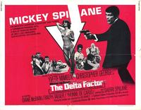 The Delta Factor - 11 x 14 Movie Poster - Style A
