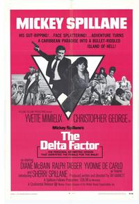 The Delta Factor - 11 x 17 Movie Poster - Style A