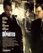 The Departed - 27 x 40 Movie Poster - Greek Style A