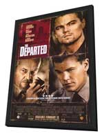 The Departed - 11 x 17 Movie Poster - Style F - in Deluxe Wood Frame
