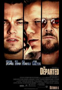 The Departed - 43 x 62 Movie Poster - Bus Shelter Style B