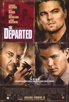 The Departed - 27 x 40 Movie Poster - Style F