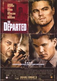 The Departed - 43 x 62 Movie Poster - Bus Shelter Style E