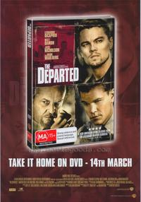 The Departed - 43 x 62 Movie Poster - Bus Shelter Style G