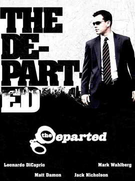 The Departed - 27 x 40 Movie Poster - Style J