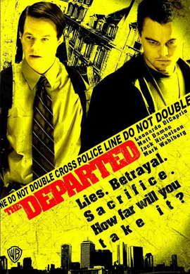 The Departed - 11 x 17 Movie Poster - Style M