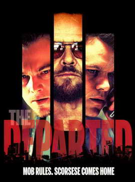 The Departed - 27 x 40 Movie Poster - Style N