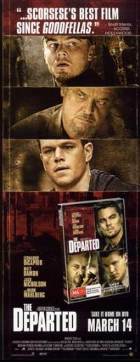 The Departed - 13 x 30 Movie Poster - Australian Style A