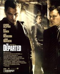 The Departed - 11 x 17 Movie Poster - Greek Style A