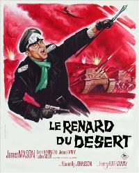 The Desert Fox: The Story of Rommel - 11 x 17 Movie Poster - French Style A