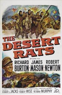The Desert Rats - 11 x 17 Movie Poster - Style B