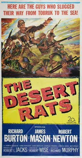 The Desert Rats - 20 x 40 Movie Poster - Style A