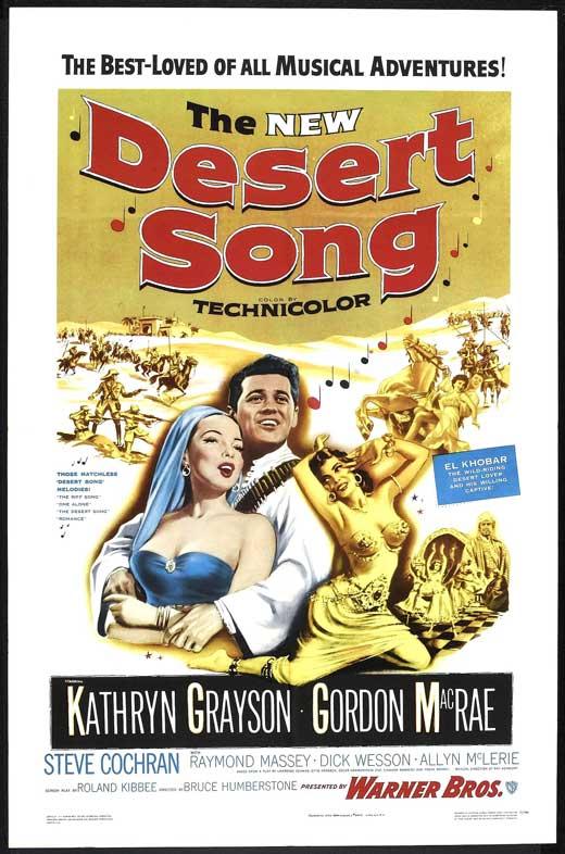The Desert Song movie