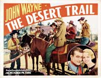 The Desert Trail - 22 x 28 Movie Poster - Half Sheet Style B