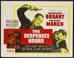 The Desperate Hours - 22 x 28 Movie Poster - Half Sheet Style B