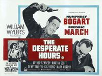 The Desperate Hours - 22 x 28 Movie Poster - Half Sheet Style A