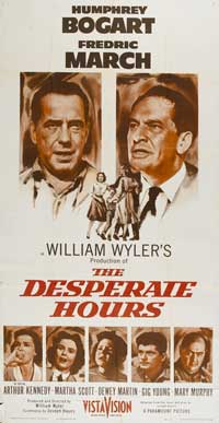 The Desperate Hours - 41 x 81 3 Sheet Movie Poster - Style A