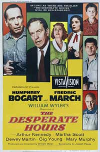 The Desperate Hours - 27 x 40 Movie Poster - Style A