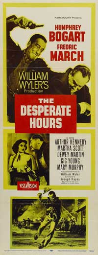 The Desperate Hours - 14 x 36 Movie Poster - Insert Style A