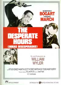 The Desperate Hours - 11 x 17 Movie Poster - Spanish Style A