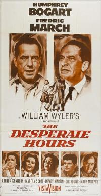 The Desperate Hours - 27 x 40 Movie Poster - Style B