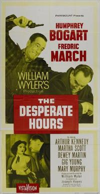 The Desperate Hours - 27 x 40 Movie Poster - Style C