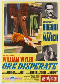 The Desperate Hours - 27 x 40 Movie Poster - Italian Style C