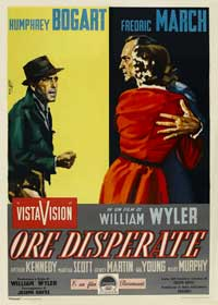 The Desperate Hours - 11 x 17 Movie Poster - Italian Style D