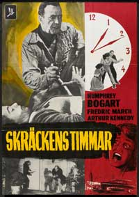 The Desperate Hours - 27 x 40 Movie Poster - Swedish Style A