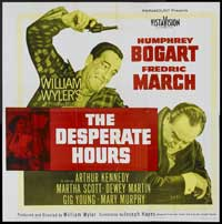 The Desperate Hours - 40 x 40 - Movie Poster - Style A