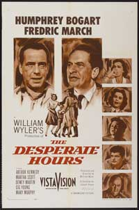 The Desperate Hours - 27 x 40 Movie Poster - Style D
