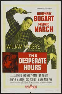 The Desperate Hours - 27 x 40 Movie Poster - Style E
