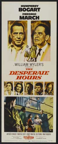 The Desperate Hours - 14 x 36 Movie Poster - Insert Style B