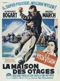 The Desperate Hours - 11 x 17 Movie Poster - French Style A