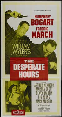 The Desperate Hours - 20 x 40 Movie Poster - Style A
